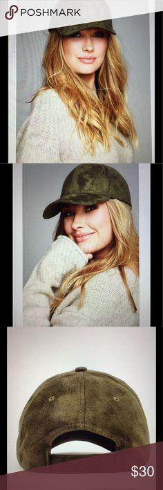 NWT Vegan Suede Caps Very nice adjustable suede cap so on trend this season. Smoke free home. 1-Green 1-Tan 1-Black WILA Accessories Hats