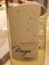 Magia Fiano Salento Igp 2010 della Cantina Feudi di San Marzano http://www.piattoebicchiere.blogspot.com/   Lovinitaly