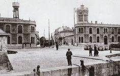 La Valencia desaparecida: Calle de la Reina desde el Puerto. Foto del libro:...