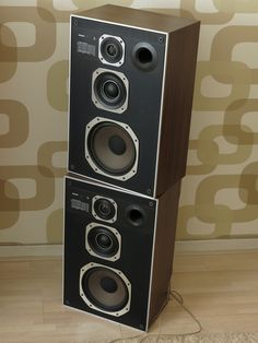 Pair of PHILIPS 22AH489 Loudspeakers
