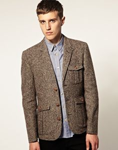 Tweed Hunting Blazer - this is so awesome for a guy
