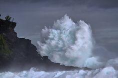 Houle australe à Grande Anse