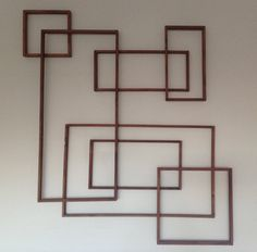 Squares and Rectangles by AdMoWoodDesigns on Etsy
