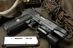 Wilson Combat, Springfield Armory, Lethal Weapon, Home Of The Brave, Light Rail, Guns And Ammo, Concealed Carry, Tactical Gear, Cool Toys