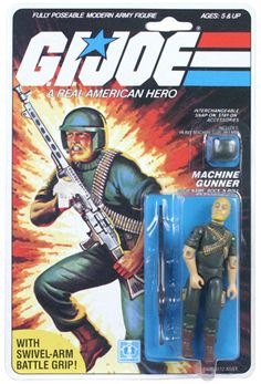 GI Joe- This was one of my first action figures. I think it also imprinted upon me that guys with beards are cool.