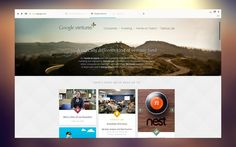 Stunning Minimalistic Google Chrome / Google Ventures #Redesign #ui #google #screenshot