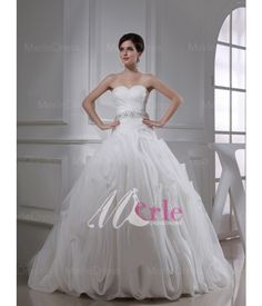 Organza Sweetheart Ball Gown Wedding Dress Buy Wedding Dress c75241d59774