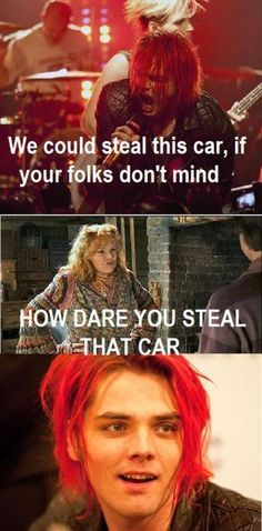 How many Harry Potter and MCR references are there I'm having waaaaaaaaay too much fun with these