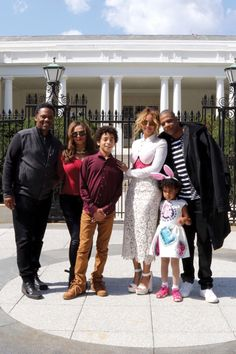 Beyoncé, Blue Ivy & Jay Z at the White House Easter Egg Roll March 28, 2016