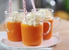 Recette du cappuccino carottes citron chantilly - Femme Actuelle