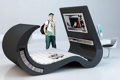 space saving furniture for teenage bedroom design