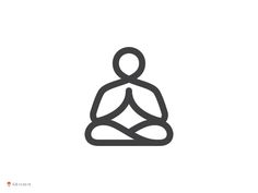 56 best yoga meditation logo images on pinterest yoga meditation