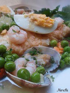 Cazuela de merluza a la marinera - Tvcocina . Recetas de Cocina Gourmet Restaurantes Vinos Vídeos