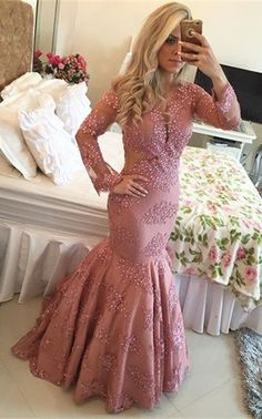 Design your own V Neck Lace Brush Train Pink Trumpet Mermaid Prom Evening Dress at Oridress. Shop the best quality V Neck Lace Brush Train Pink Trumpet Mermaid Prom Evening Dress t the most affordable prices! Cheap Mermaid Prom Dresses, Long Prom Gowns, Pink Prom Dresses, Mermaid Evening Dresses, Dress Long, Cheap Dress, Dresses 2016, Dress Prom, Evening Gowns