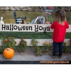 Top post of 2013: Another great way to celebrate Halloween, is through movement and storytelling. Halloween Yoga sequence by Kids Yoga Stories