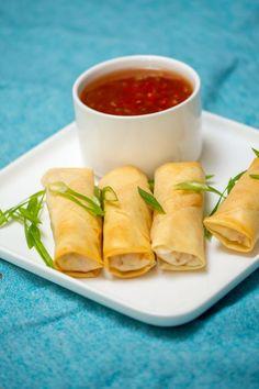 Pita Wrap, Brunch, Asian Recipes, Ethnic Recipes, Dim Sum, Party Snacks, Finger Food, Fresh Rolls, Tapas