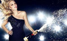 Scarlett Johansson, Moet and Chandon Ad