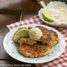 Crab Cakes | The best crab cake recipe from That Skinny Chick Can Bake