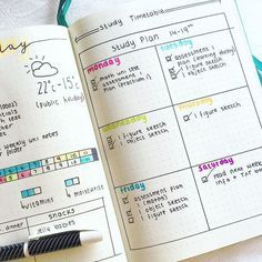 It's that time of year for students… finals!! When I was in school I would always be so stressed out, if only I had my bullet journal to help me stay focused. Whether you need a spread to help plan your week, a study time table, or just a deadline tracker – these spreads have it all! Good luck everyone – may finals be ever in