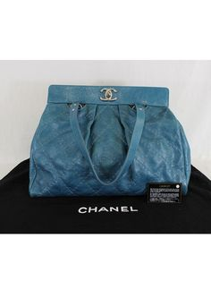 abc2df5e2fb1 Authentic CHANEL On the Road Large Calfskin Leather Tote Bag #CHANEL  #TotesShoppers