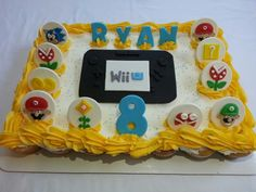 Wii U cake fur my little guy
