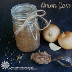 Onion & Red Wine Jam - Thermomix Recipe - Cooking in the Chaos
