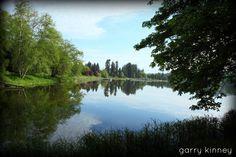 Vernonia Lake this morning......