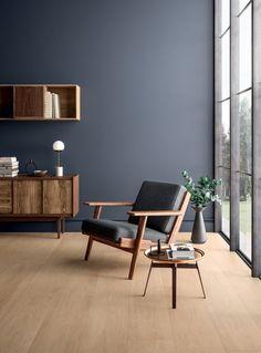Living Room Paint Ideas Two Tone, Living Room Color Schemes, Living Room Designs, Living Room Decor, Living Area, Small Living, Modern Living, Living Rooms, Minimal Living