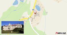 Zámeček nechali vystavět kolem roku 1700 rytíři Pikhartové ze Zeleného Údolí. Roku 1766 přestavba na lázeňský dům. Při rozšiřování lázní vznikly i... Map, Location Map, Peta, Maps
