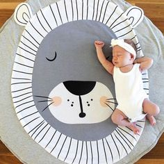 Cheap play mat, Buy Quality baby gym directly from China baby gym activities Suppliers: Play Mat Round Lion Rabbit Unicorn Fox Koala Crawling Blanket Infant Game Pad Play Rug Floor Carpet Baby Gym Activity Room Decor