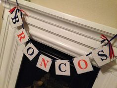 Denver Broncos Banner for the #SuperBowl. Kids Dental Center - pediatric dentist in Chandler, AZ @ www.kidsdentalcenter.com