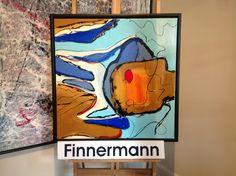 Art by FINNERMANN 70  X  70 CM  AKRYL