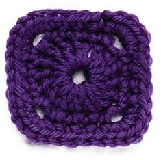Ravelry: Circle-in-the-Square Crochet Motif IV pattern by Lion Brand Yarn