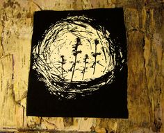 Nest patch  by MonicaCreep    aprox 5x5    *We will send the colour of are choice unless noted otherwise