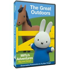 Do you have kids who love to watch Miffy's Adventures? If you do, Miffy's Adventures: The Great Outdoors was just released. You can pick up your very own copy today!