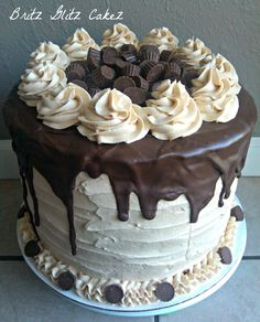 Reeses cake.....now THAT'S  cake