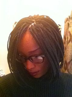 """bob braids"""" because they were braids styled into the classic bob cut"""