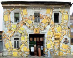street art, wall painting, graffiti