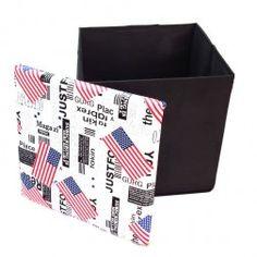 Caixa Organizadora Puff USA