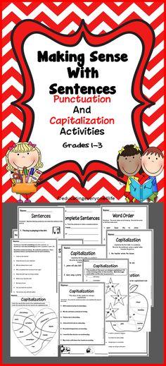 Language Arts Activities For Primary Grades  #Common Core Standards #Language Arts Activities