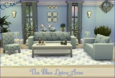 CC4Sims: Living Room 001 • Sims 4 Downloads