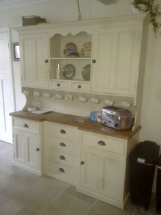 Customers painted reclaimed pine dresser & kitchen.