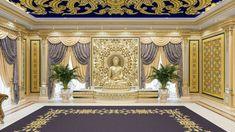 Luxury Homes Interior, Interior Design Companies, Luxury Living, Valance Curtains, Living Room Designs, Villa, Cartier Jewelry, Infinity, Bedrooms