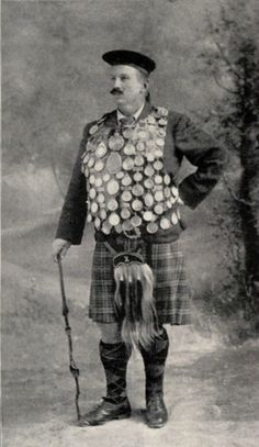 "Donald Dinnie was a Scottish strongman.He has been recognized as ""The Nineteenth Century's Greatest Athlete""."