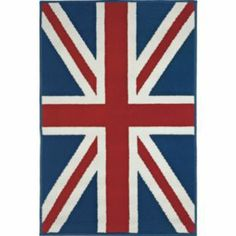 Buy Living Union Jack Rug - 120 x 67cm - Multi at Argos.co.uk - Your Online Shop for Rugs and mats.