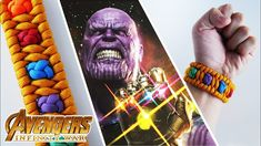 INFINITY WAR | How to Make an Infinity Gauntlet Trilobite Paracord Brace...