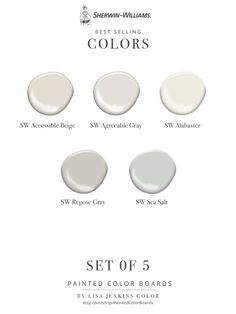Beige Paint Colors, Wall Paint Colors, Paint Colors For Home, Best Wall Colors, Gray Paint, Fixer Upper Paint Colors, Neutral Wall Colors, House Colors, Neutral Kitchen Colors