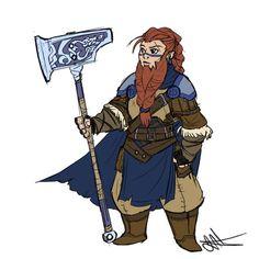 Female Dwarf Fighter - Imgur