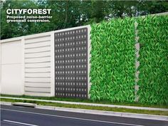 Картинки по запросу Vertical gardens are popping up on highway pillars all over Mexico City