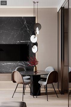 50 Best Modern Dining Room Design Ideas - Home Decorating Inspiration Room Interior Design, Dining Room Design, Living Room Interior, Home Interior, Modern Interior, Interior Architecture, Furniture Design, Interior Decorating, Residential Interior Design